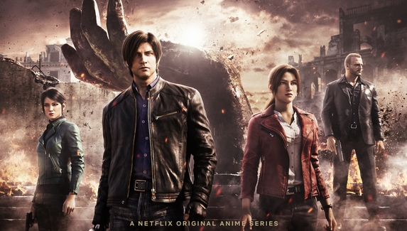На Netflix вышел мультсериал Resident Evil: Infinite Darkness