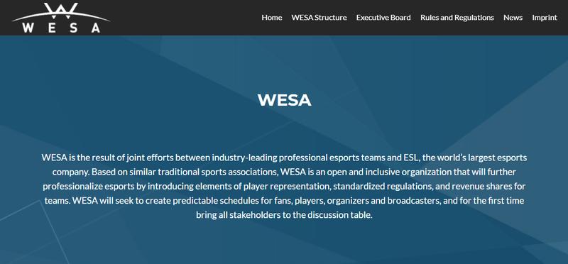 Сайт WESA