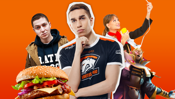 Hamburgers, Dota 2, New Year. Random questions to eLvenpath