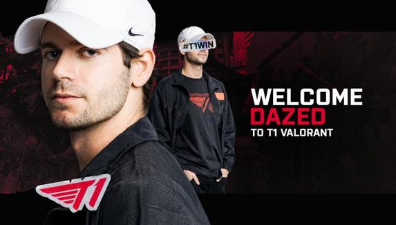 T1 подписала DaZeD в состав по Valorant — теперь команда почти полностью состоит из игроков, забаненных Valve