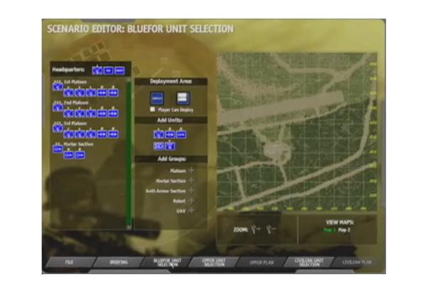 Редкий скриншот Full Spectrum Command