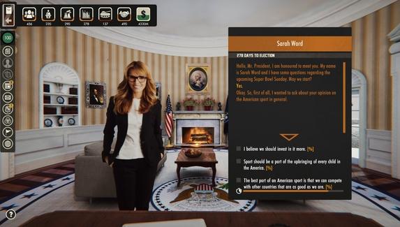 В Steam вышел симулятор президента США — в игре можно развязать ядерную войну