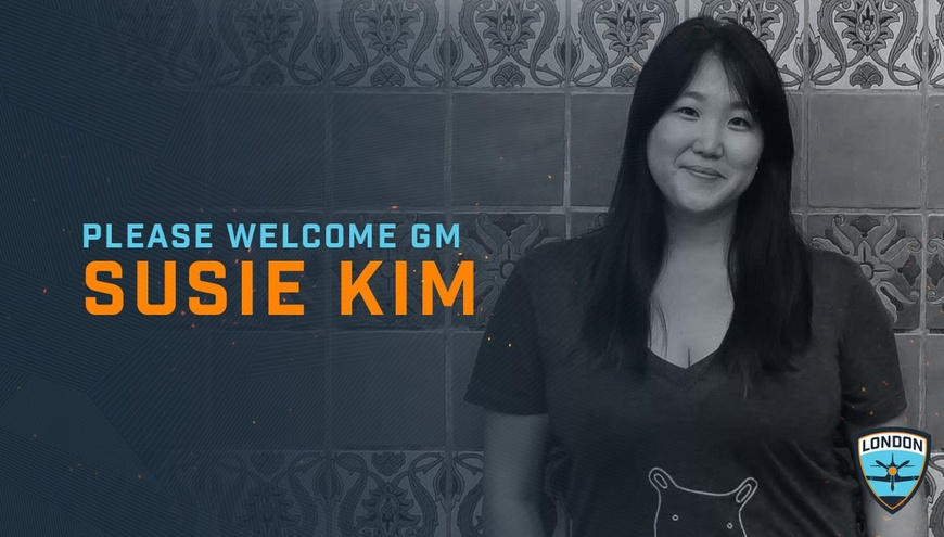 London Spitfire bring on Susie Kim as General Manager