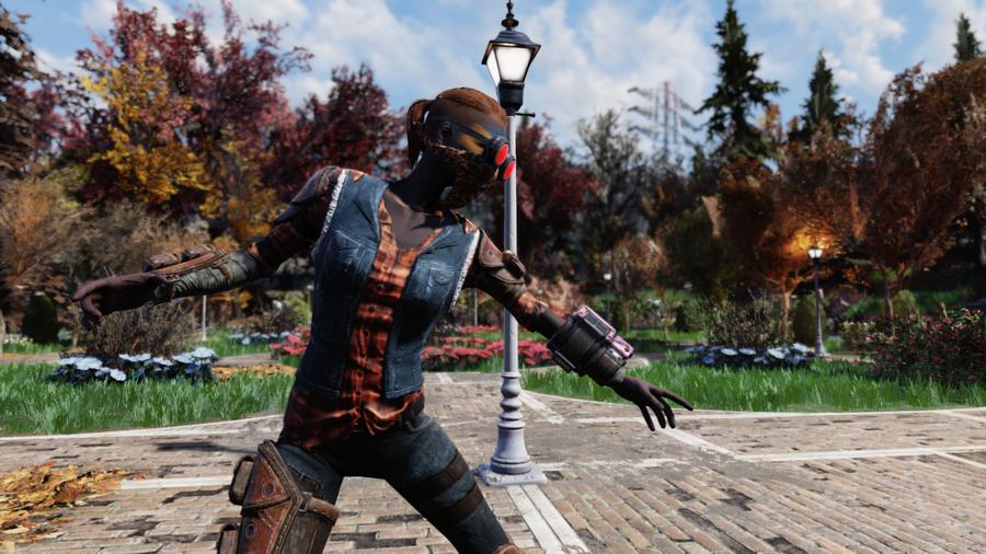 Джинсы выжившего - награда режима Nuclear Winter в игре Fallout 76