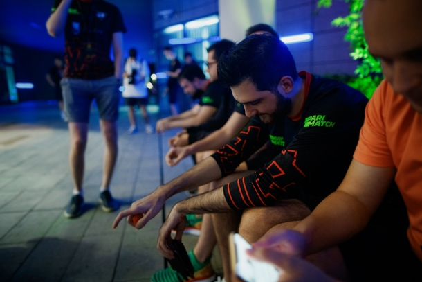 Virtus.pro на TI9. Фото: VP