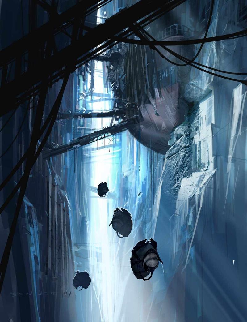 Официальный концепт-арт Half-Life: Episode Three