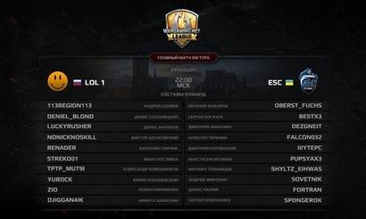 Матч тура: LOL team 1 против ESC ICY BOX
