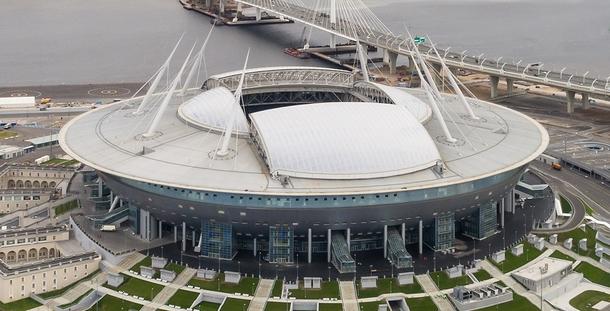 Газпром Арена. Источник: википедия.