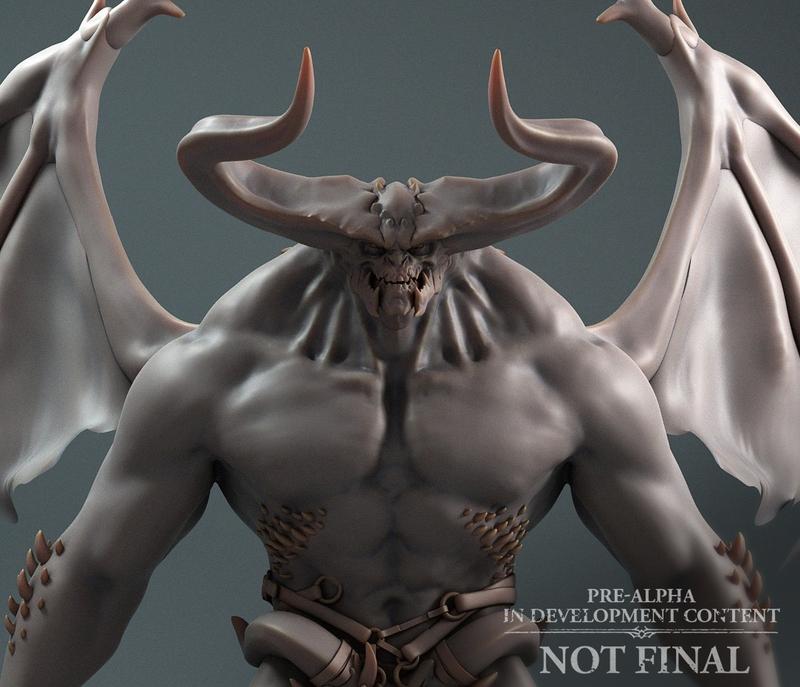 Демон в игре