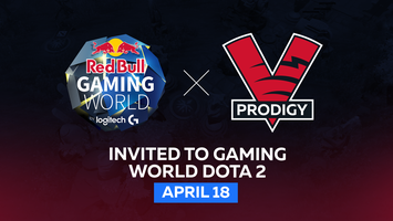 VP.Prodigy will play in Red Bull Gaming World