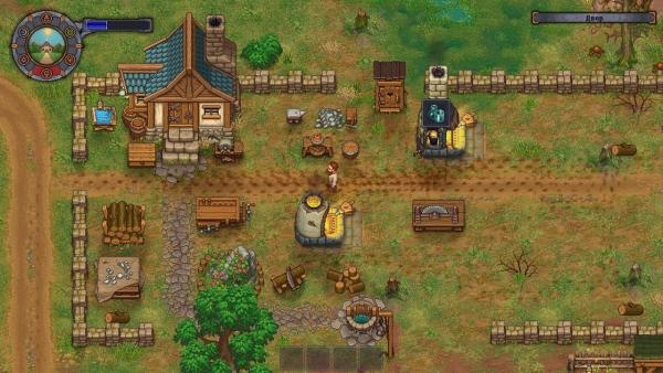 Вот ваш дом и небольшой двор