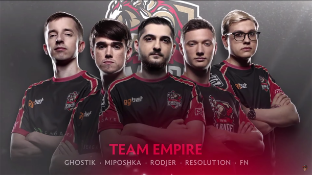 Состав Team Empire на TI7