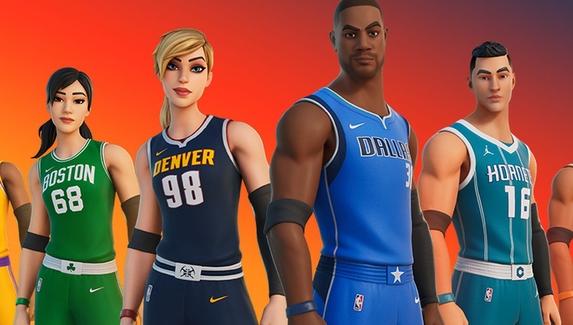 В Fortnite начался кроссовер с НБА — добавили формы команд и новое состязание