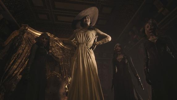 Журналист рассчитала рост Леди Димитреску из Resident Evil Village