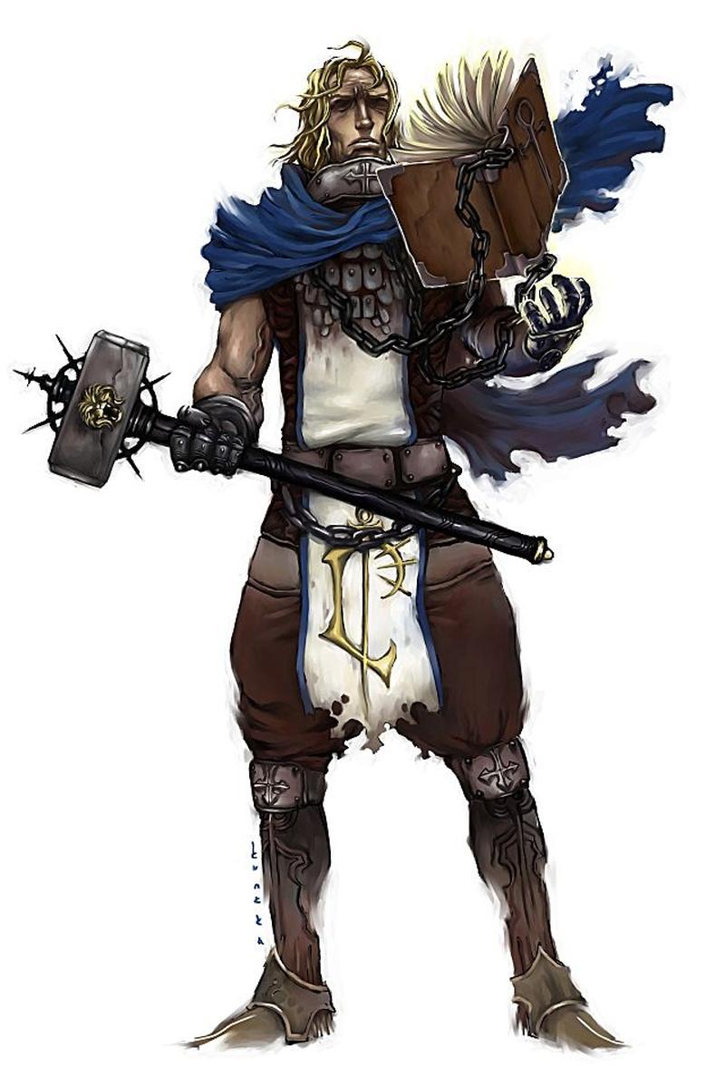Ранний арт Kunkka: паладин из Warcraft 3 (2004)