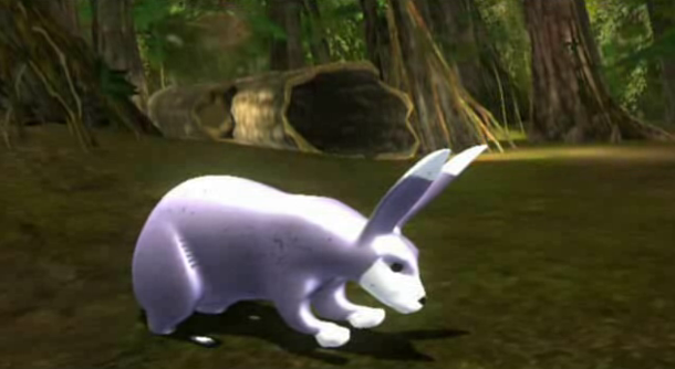 Беззаботные кролики в джунглях