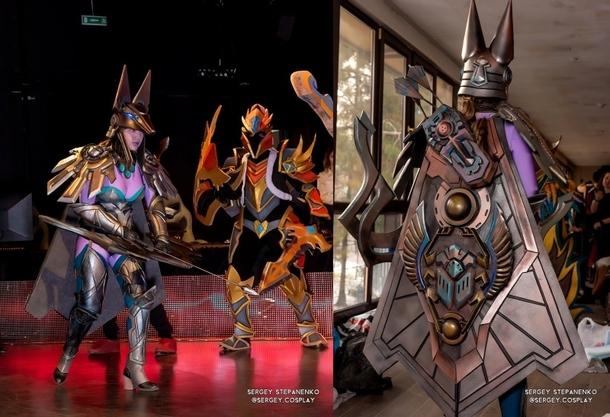 Drow Ranger и Dragon Knight