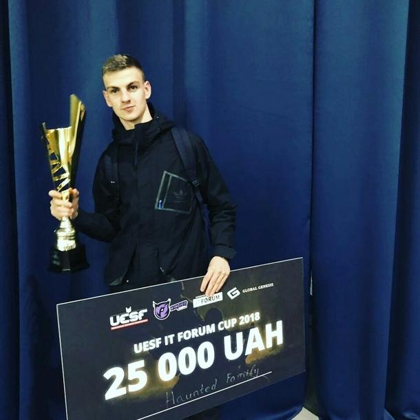 Woro после победы на UESF