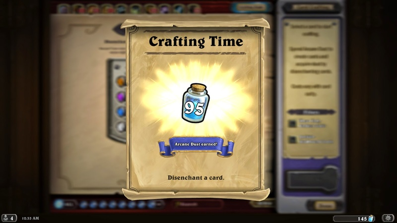 Any Hearthstone player will tell you — the crafting system is just not fair