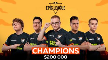 Virtus.pro won EPIC League Division 1
