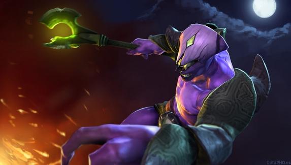 Invoker уступил Windranger в голосовании за Arcana