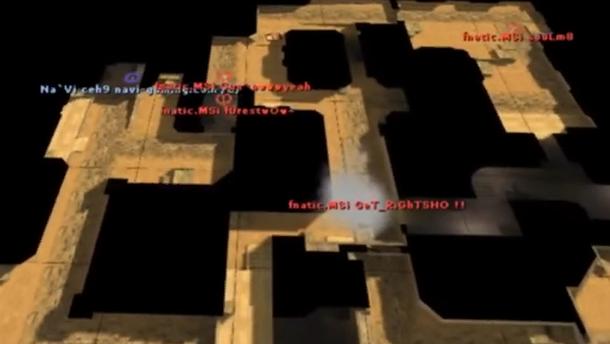 Zeus и ceh9 были теми игроками Natus Vincere, которые нередко ожидали там атаки. У ESC Gaming в яме особо выделялся Loord.