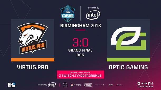 Результат Bo5 OpTic VS VP