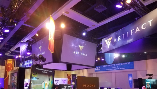 In pictures: A packed Artifact event at PAX West