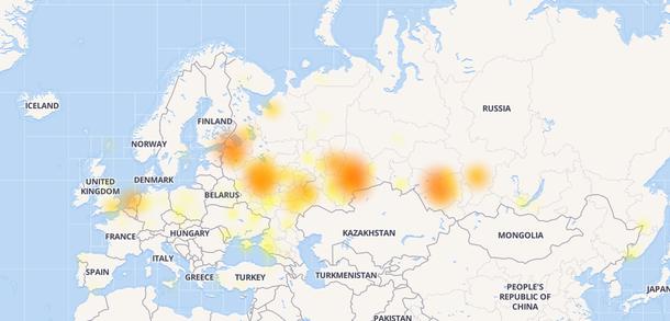 Места, где есть проблемы с подключением к Twitch