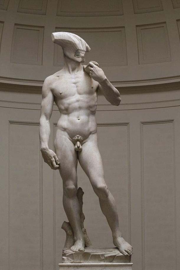 Был Давид от Микеланджело, а стал Войд от Химченко