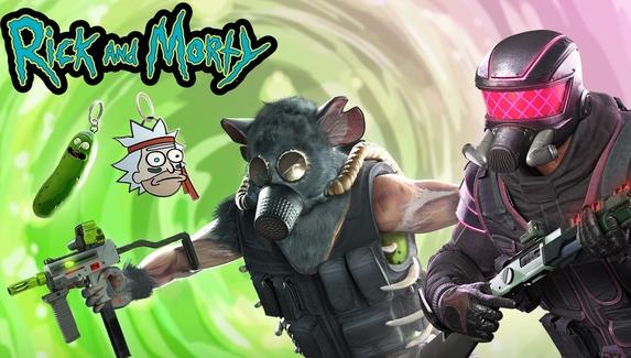 В Rainbow Six Siege пройдет кроссовер с «Риком и Морти»