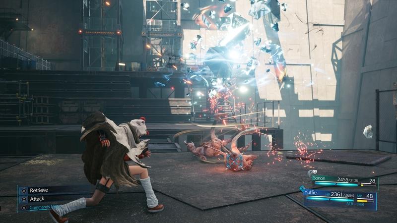 Скриншот из Final Fantasy VII Remake: INTERmission