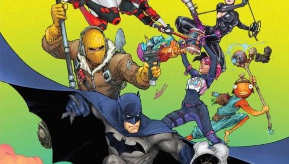 DC Comics выпустит серию комиксов про Бэтмена в мире Fortnite