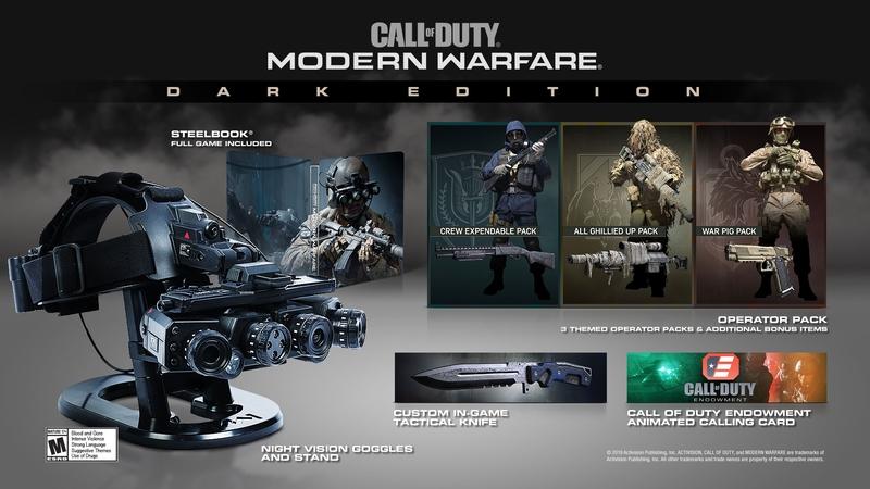Коллекционное издание Call of Duty: Modern Warfare