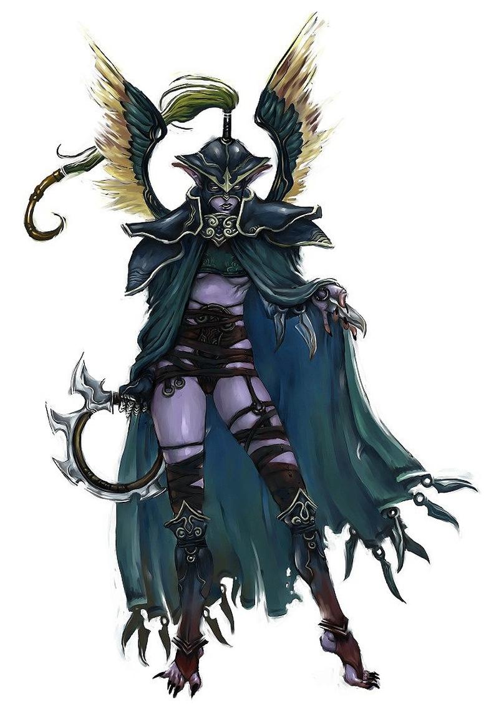 Ранний арт Kunkka: защитница из Warcraft 3 (2004)