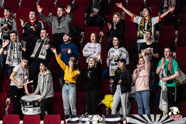 Болельщики на Кубке Харламова 2020. Фото: ХК «Трактор»