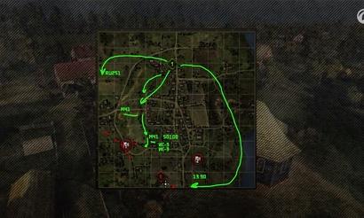 Новый «Командный бой». Базовые тактики на карте Мурованка
