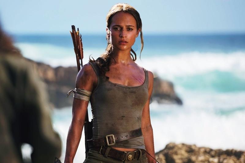 Кадр из фильма «Tomb Raider. Лара Крофт 2»