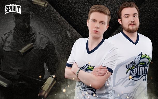 Новые игроки Team Spirit