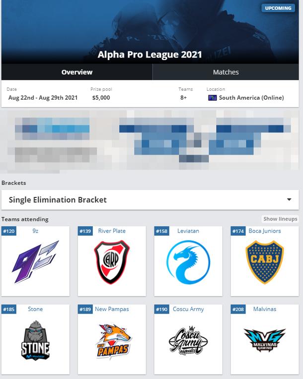 Alpha Pro League 2021