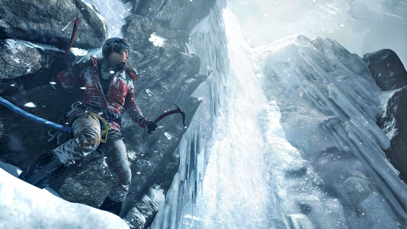 Кадр из игры Rise of the Tomb Raider