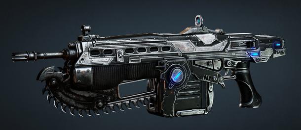 Эта пушка стала легендой в шутерах, ведь возможность распилить врага на две аккуратные половинки пришлась по душе многим геймерам. А какой персонаж любил нашинковать с ее помощью врагов?