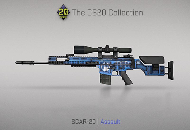 Скин на SCAR-20 | Источник: blog.counter-strike.net