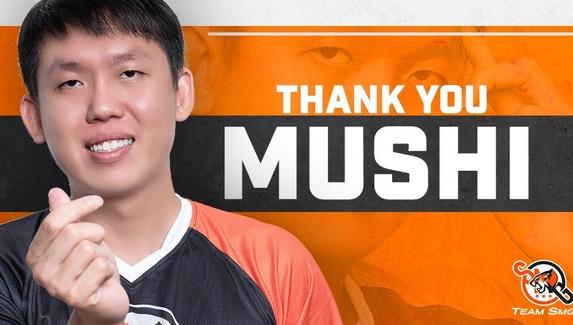 Mushi официально ушел из команды MidOne