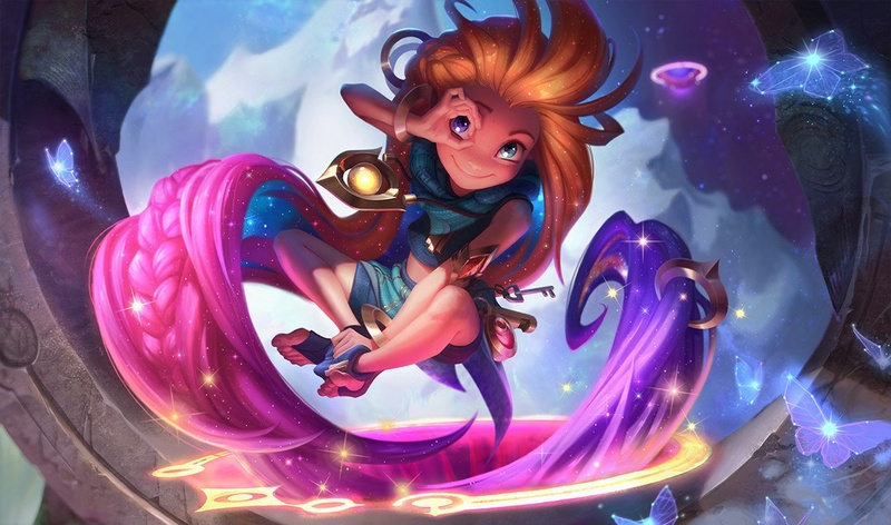 Zoe is the poster child for anti-fun levels of burst   Art by Riot Games