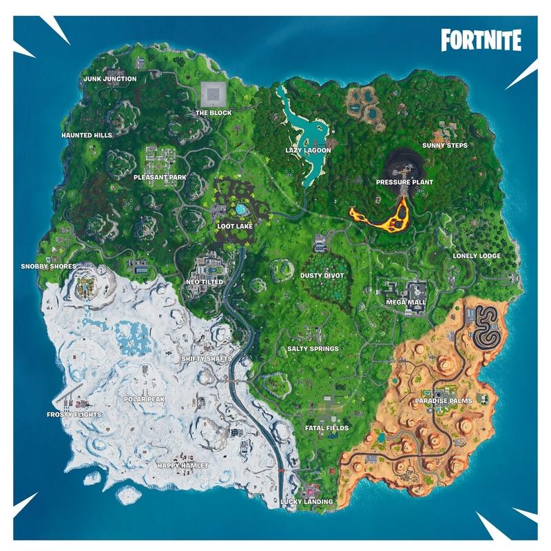 Карта девятого сезона