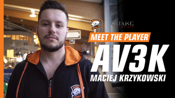 Av3k – esport legend from Poland, who prefer Quake Champions over CS:GO