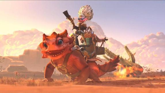 Valve анонсировала нового героя в Dota 2 — это тетушка Timbersaw!