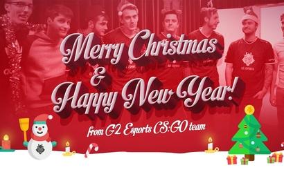 Основатель и игроки G2 Esports поздравили фанатов с Рождеством