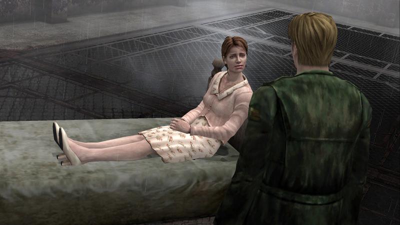 А в концовке «Мария» финальным боссом выступает именно мертвая жена Джеймса